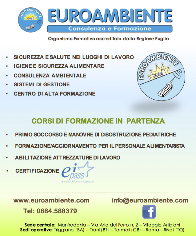 Euroambiente - inserzione