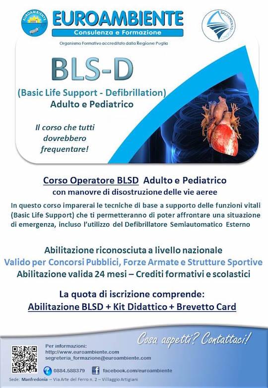 Locandina Corso BLS-D